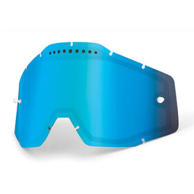 100% Vented Dual Replacement Lenses blue / mirror
